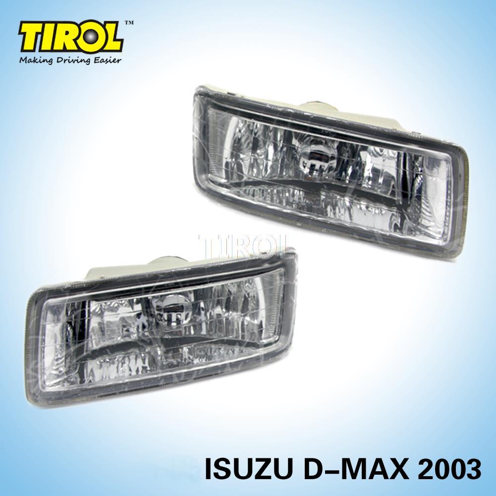 Tirol T16575 b  Light  kit OEM Replacement for NEW ISUZU DMAX D-MAX 2003 Pickup Truck Smoke Front Bumper Lamps Pair<br><br>Aliexpress