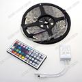 Waterproof IP65 RGB 5050 60LEDs m 5M 300 LEDs Flexible SMD LED Strip 44 key IR