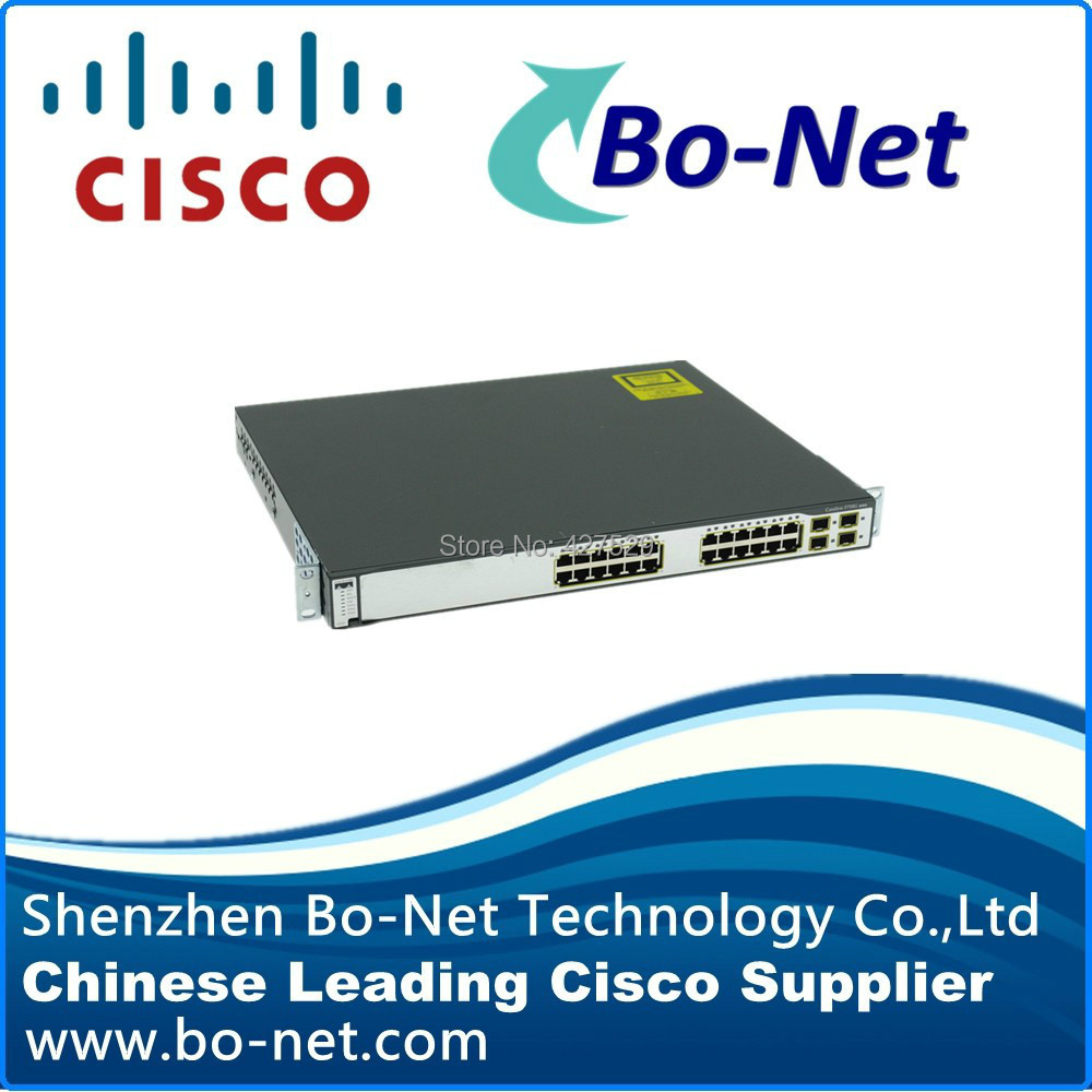 CISCO WS-C3750G-24TS-S1U Catalyst 24 Port Gigabit Switch(China (Mainland))