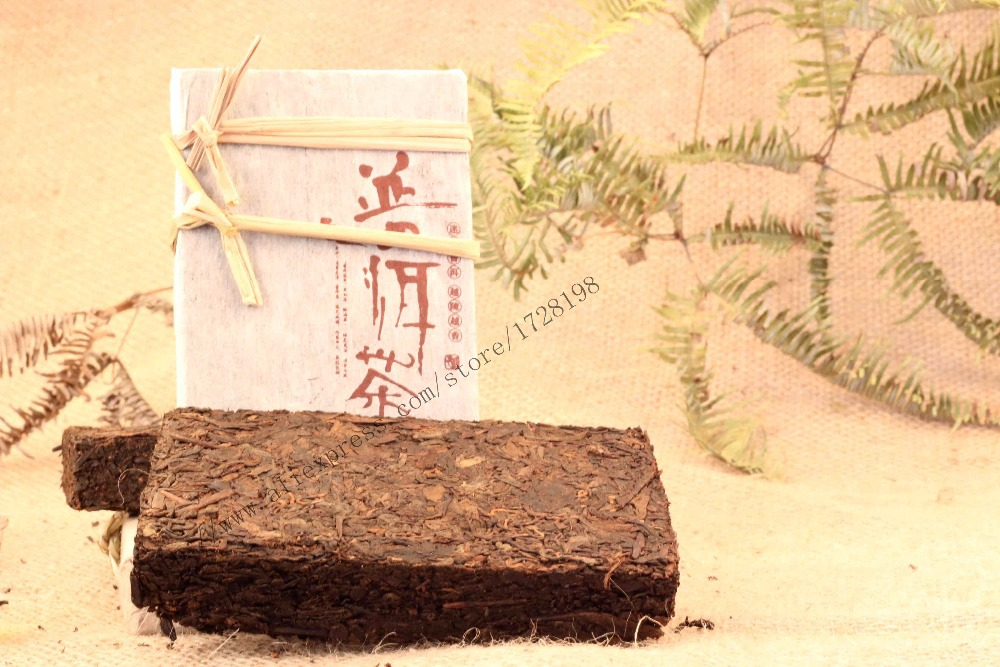 Chinese Pu Er tea Brick tea black tea Cha 250g premium Chinese Pu Er tea good