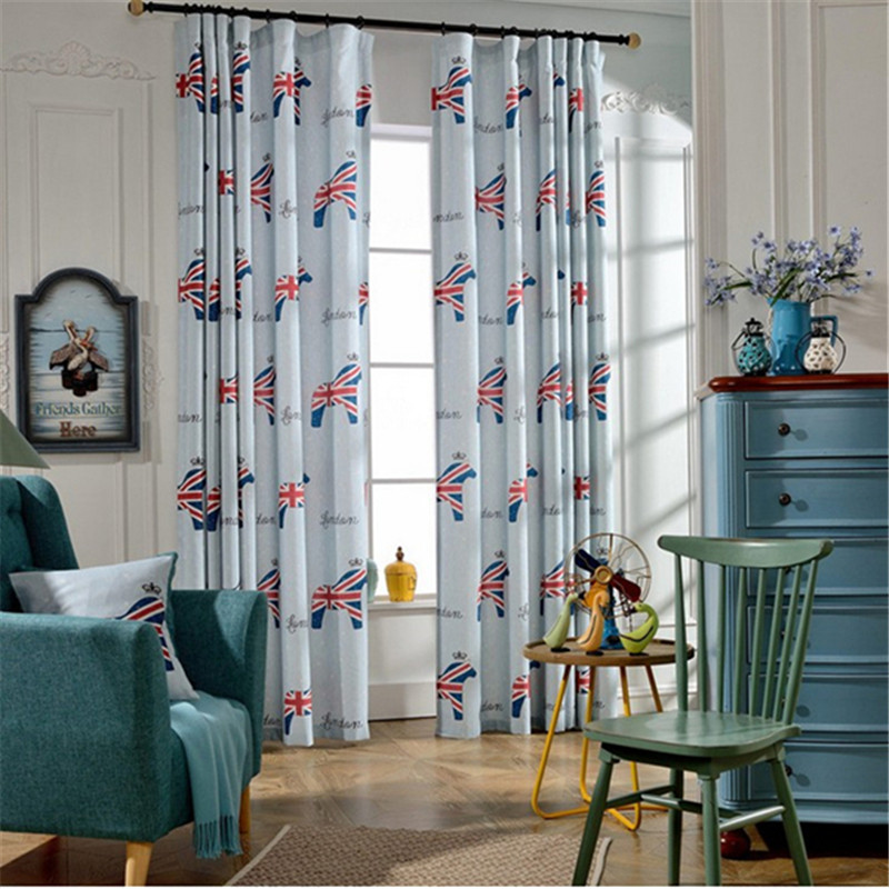 online kaufen gro handel striped curtains for boys room. Black Bedroom Furniture Sets. Home Design Ideas