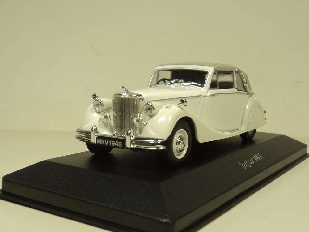 ATLAS 1:43 JAGUAR MKV 1948 Diecast car model(China (Mainland))