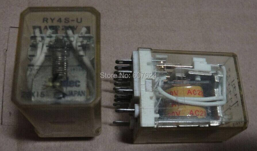 RY4S-U AC220V IDEC DIP OMRON-MY4N RELAY ,ONLY two pcs(China (Mainland))