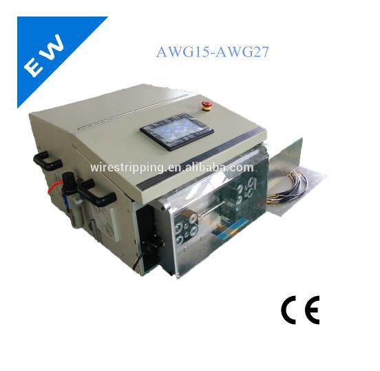 Sheathed wire stripping machine hot sale EW-05F, used wire stripping machine(China (Mainland))