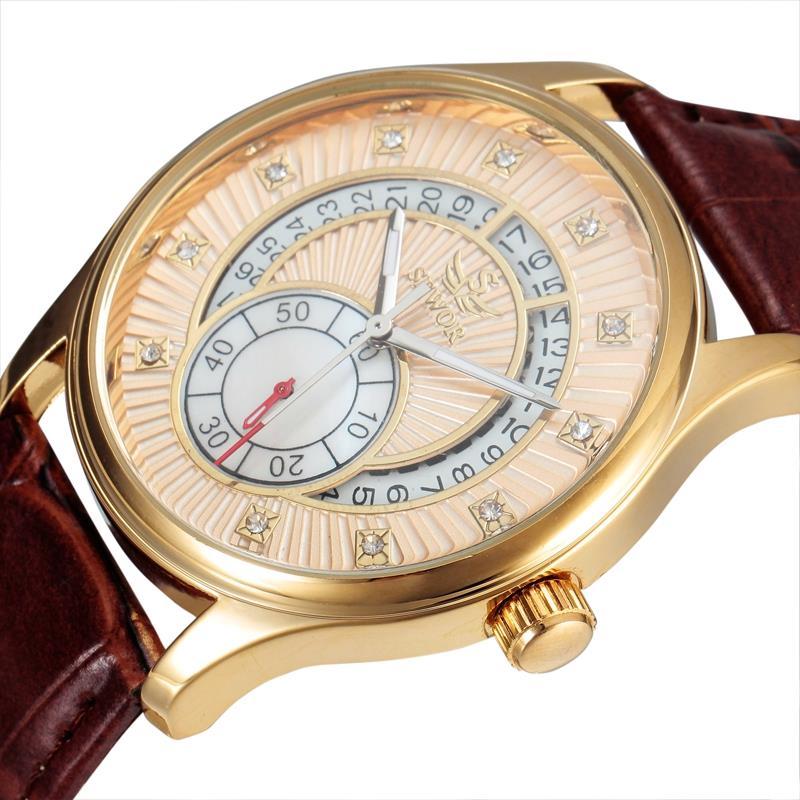 2016 New Sewor Brand Fashion Men Luxury Clock Business Cool Automatic Mechanical Self Wind Military Steel Wrist watch SWQ24<br><br>Aliexpress
