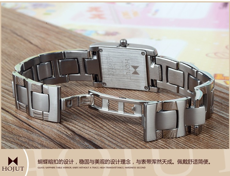 Hojut A66 япония высший сорт кварцевый механизм леди мода бизнес кварцевые часы