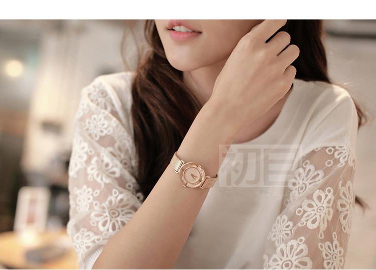 Julius Lady Woman Watch Quartz Hours Best Fashion Dress Bracelet Steel Band Roman numerals Girl Birthday Mother's Gift JA-728