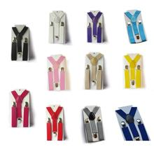 Hot Cute Baby Boys Girl Clip on Suspender Y Back Child Elastic Suspenders Braces