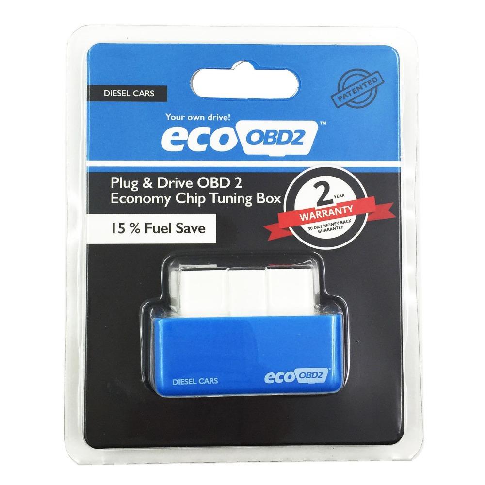 Ecoobd2 чип тюнинг автомобилей плагин и привод OBD2 экю Remaping для дизельных автомобилей obd obdii OBD2 obd 2 сканер инструменты инструмент
