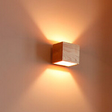 Sconce Light Square shape Lamp