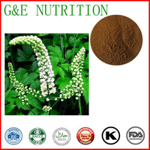 500g Natural Black Cohosh/ Cimicifuga Racemosa/ Actaea racemosa/ Cimicifugae racemosae rhizome Extract with free shipping(China (Mainland))