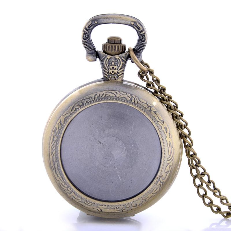High Quality Autonomous DIY Pocket Watch 50pcs/lot Custom made <br><br>Aliexpress