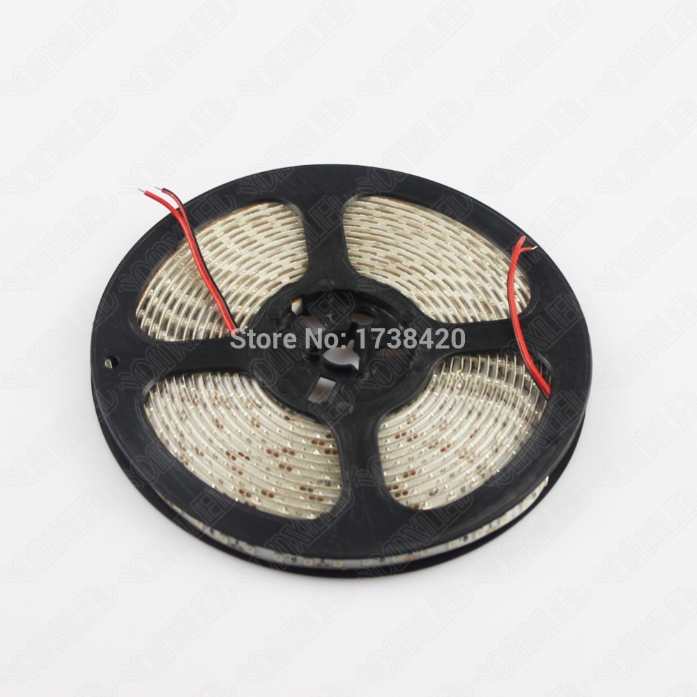 Free Shipping 20m/lot LED Strip 3528 SMD 120leds Non-waterproof IP22 LED Flexible Rope Light Red/Green/Blue/White/Yellow(China (Mainland))