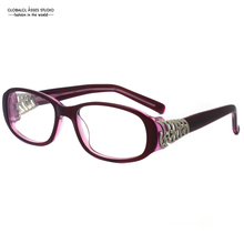 Last&New Design Very good-looking Dark Red Color Fashion Classic Female Eyewear Glasses Optical Eyeglasses Frame VCH346S
