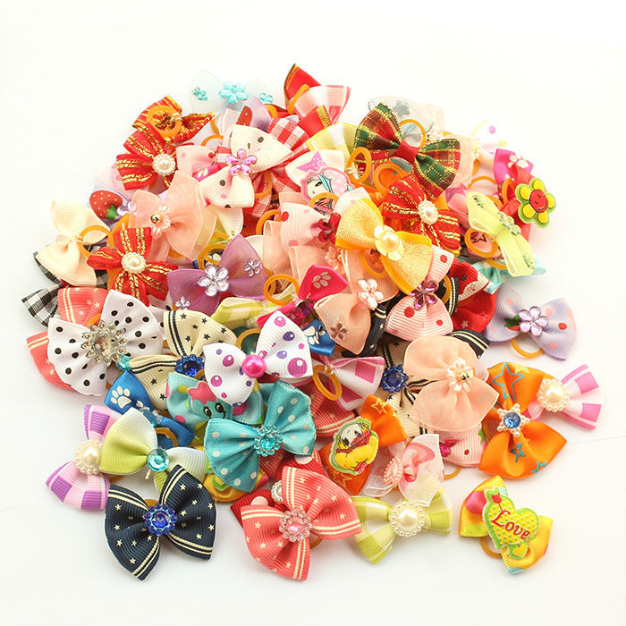 Гаджет  Value Spree!!  Handmade Accessories For Dogs. Bows For Yorkies, Pets Supplies, Pet Boutique, Dog Ribbons. None Дом и Сад