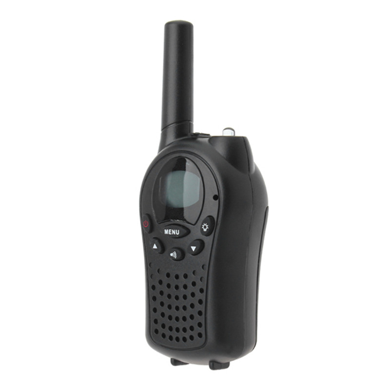 2pcs A Lot 0.5W UHF Auto Channels Mini Radios Walkie Talkie Pair Black New Arrival Excellent Quality(China (Mainland))