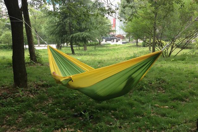 Portable Outdoor Parachute Nylon Camping Hammock