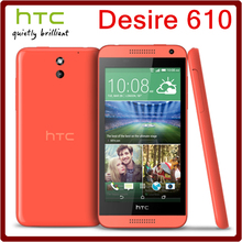 610 Original Unlocked HTC Desire 610 8MP 2040mAh 4.7Inches 8GB ROM Touchscreen Refurbished Mobile Phone Free Shipping(China (Mainland))