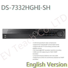 English Version DS-7332HGHI-SH Turbo HD TVI DVR H.264 & Dual-stream video compression Long transmission distance over coax cable(China (Mainland))