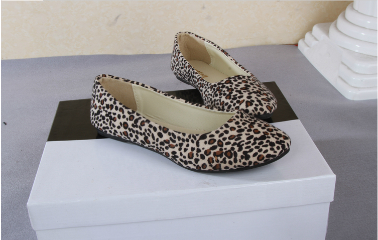 Animal Print Cheetah Leopard Ballet Flats Mossimo(China (Mainland))