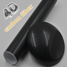 Buy Car Styling Waterproof 152*50cm Car Sticker 4D Carbon Fiber Vinyl Film With Air Free Bubble Car Wrap DIY Car Tuning Part Sticker for $8.00 in AliExpress store