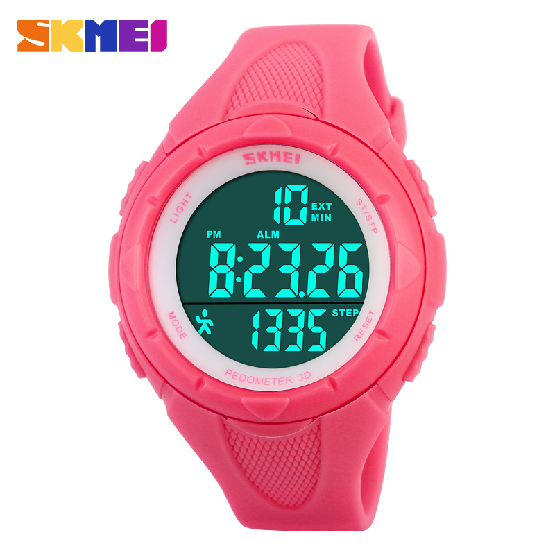 2016 new fashion sports watches pedometer digital