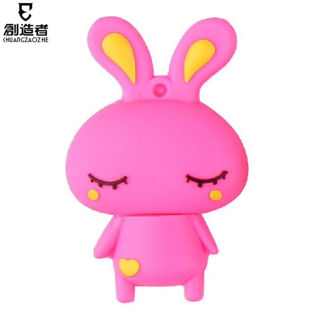 16g usb flash drive capitellum rabbit cartoon usb flash drive personalized usb flash drive