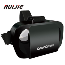Colorcross III VR auricular Immersive spaces realidad Virtual 360 grados gafas 3D Google cartón óculo Rift Dk2 para 4.7 – 6 pulgadas teléfono