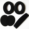 New Replacement Ear Pads Cushion Headband Cover for Se nnheiser HD515 HD518 HD555 HD558 HD595 PC350
