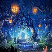 5x7ft Thin vinyl cloth photography costume custom halloween backdrop  photo studio free shipping HA-045
