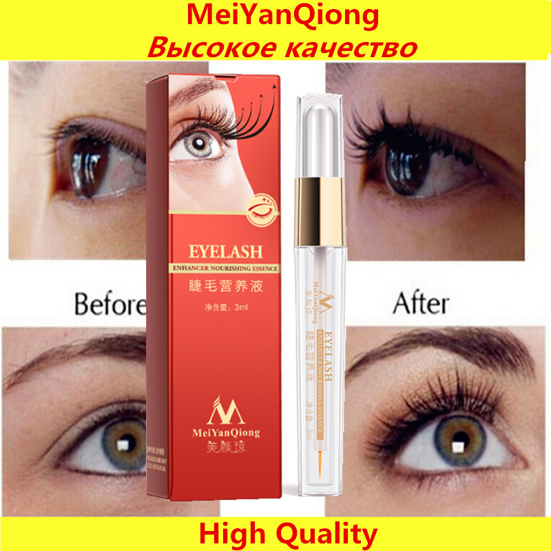 Herbal Eyelash Growth Treatments Liquid Serum Enhancer Eye Lash Longer Thicker Better than Eyelash Extension Powerful Makeup(China (Mainland))