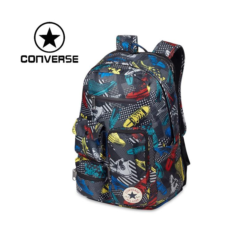 100% Original New 2015 Converse  men and women bag 12603C099  Backpacks Unisex free shipping<br><br>Aliexpress