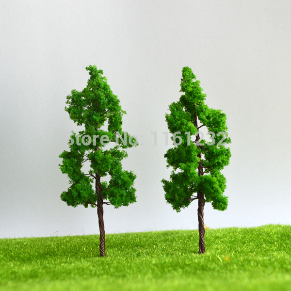 Iron Wire Tree Model 5cm Ho Scale Model Train Layout Miniature Wire Tree Model for sale(China (Mainland))
