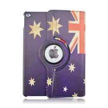 Buy Protective Case Apple iPad Air 2 iPad 6 Tablet Sleeve AU & CA National Flag Stand 360 Degree Rotating Flip PU Leather Cover for $10.21 in AliExpress store
