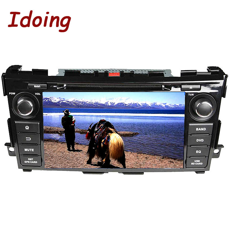 Idoing 2 Din For NISSAN 8inch Android5.1 Car DVD Player GPS Navigation NAVI Radio Automotivo Com Bluetooth Central Multimedia 3G(China (Mainland))