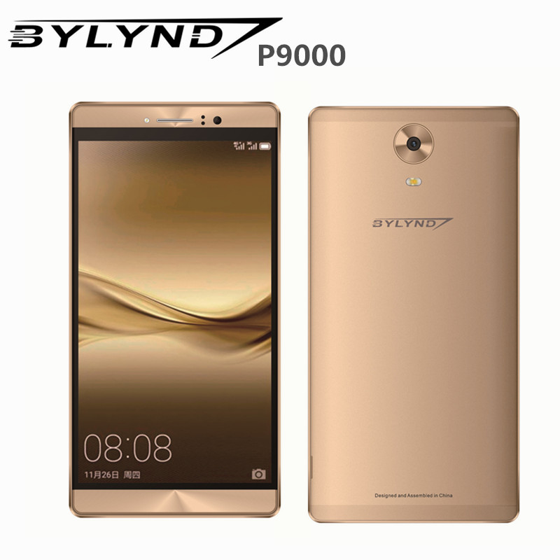 "Bylynd cell android 5.1 P9000 smartphones 2G RAM 8.0mp fill light 6.1"" unlocked China mobile phones MTK6580 quad core 960*540 3G(China (Mainland))"
