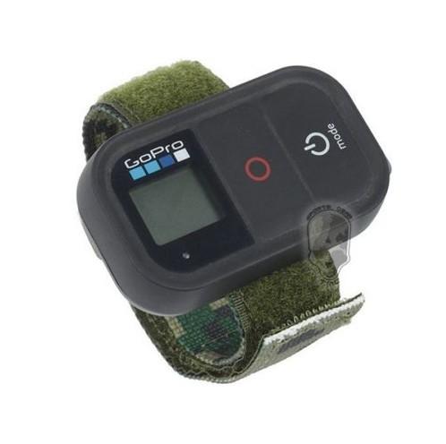 Nylon Wifi Remote Wristband Wrist Strap Belt Band Velcro Bracelet Mount Accessories For Gopro Camera Hero4 3 2 1 Sjcam(China (Mainland))