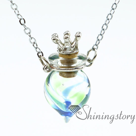 round perfume sample vials scent necklace aromatherapy jewelry diffusers miniature glass bottles pendant necklace wholesale(China (Mainland))