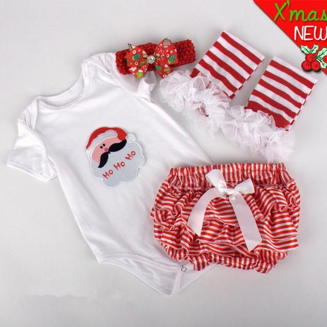 Ropa de beb de navidad en pinterest 4 unids set ni 241 o - Trajes de navidad para bebes ...