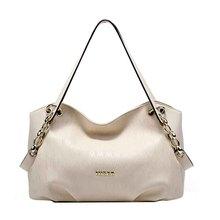 FOXER Fashion Brand Women Bag Top Quality Genuine Leather Handbags Pleated Zipper Women Shoulder bags