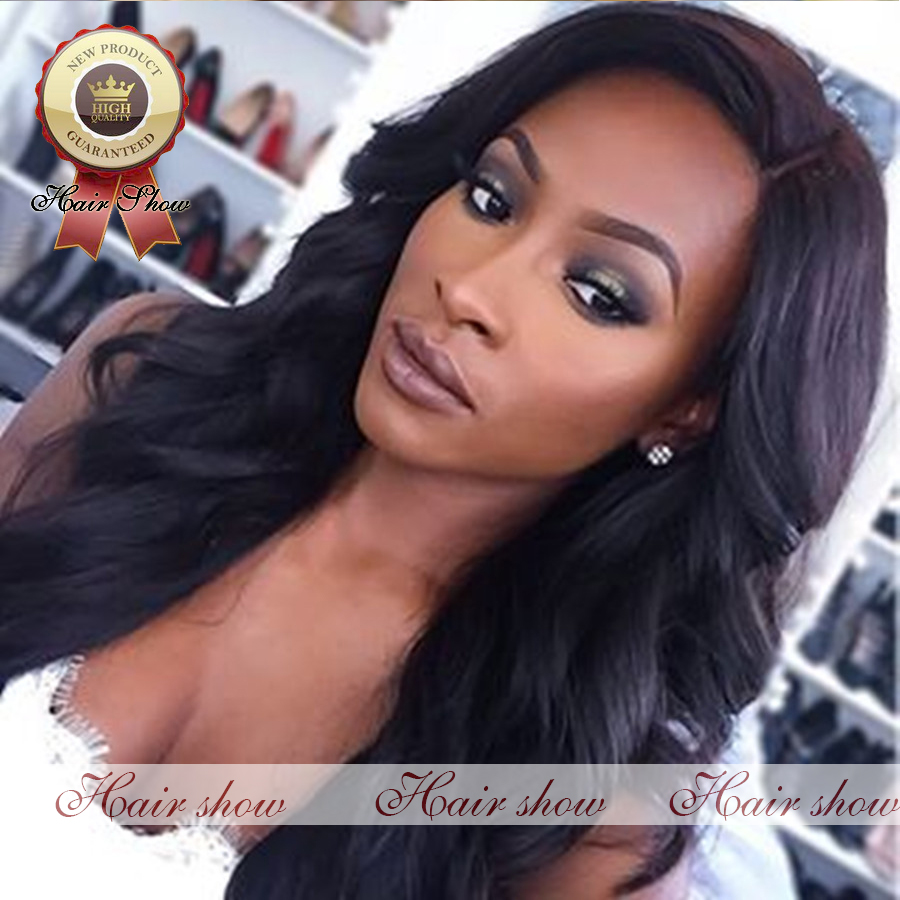 Hot Sale glueless full lace human hair wig virgin brazilian unprocessed body wave lace front wigs with baby hair for black women<br><br>Aliexpress