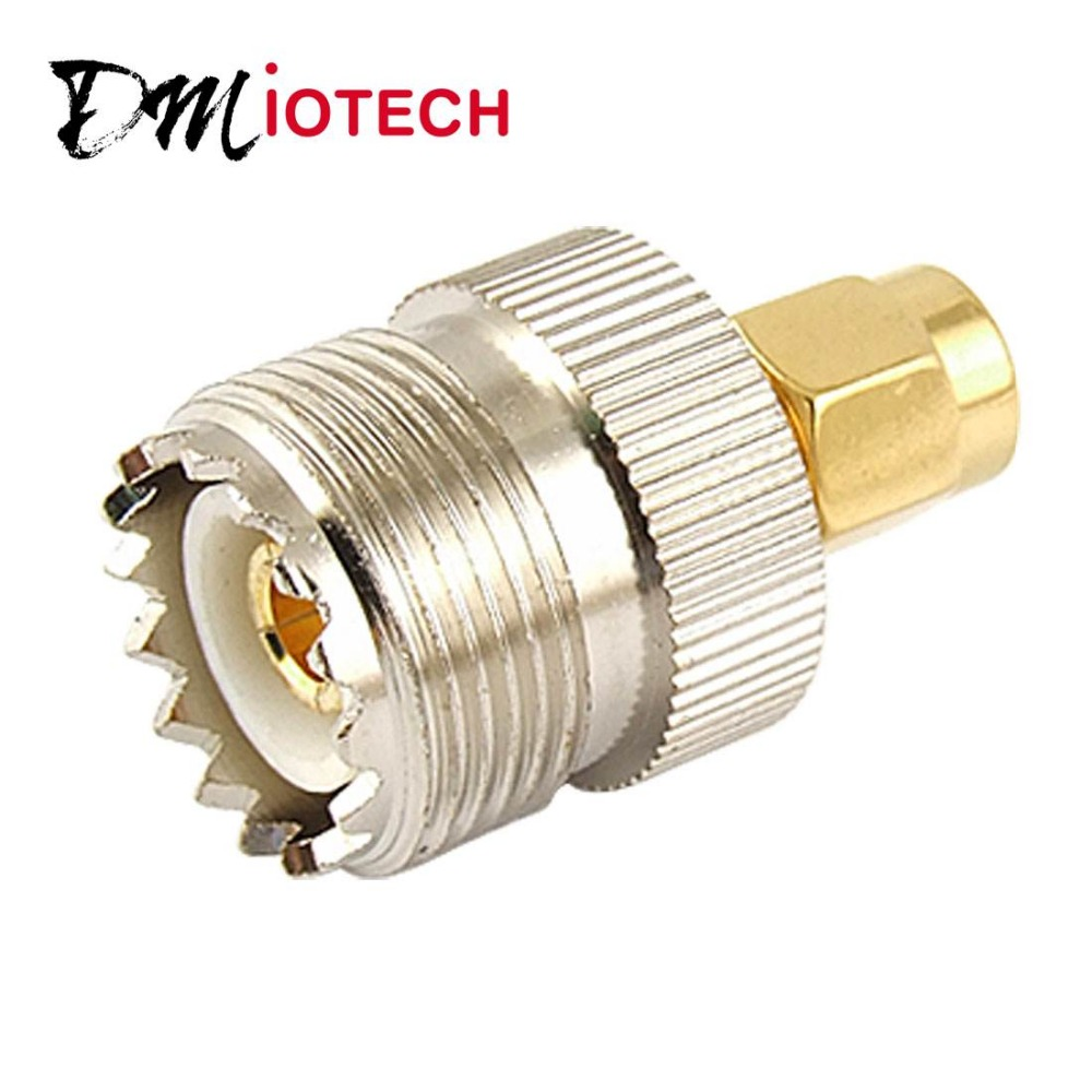 UHF SO-239 SO239 Female to SMA Male Plug Connector Coaxial Adapter Discount 70(China (Mainland))