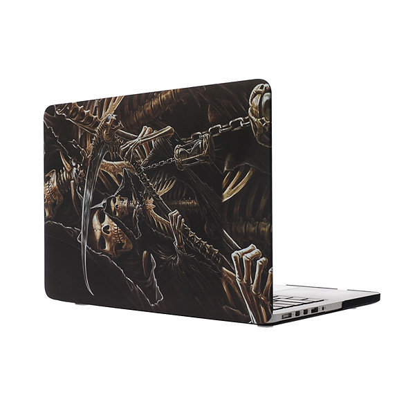 """Laptop Matte Shell Plastic Case Notebook Hard PC Cover Scary Skeleton Print for Apple Macbook Air 13""""11"""" Pro&Retina13""""15""""New12""""(China (Mainland))"""