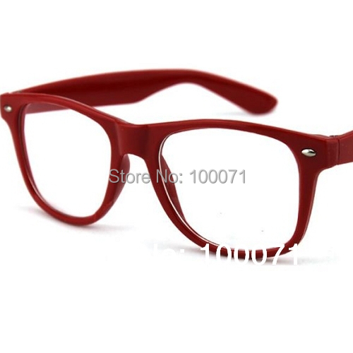Girls Clear Lens Fashion Glasses Girls Boys Clear Lens Nerd