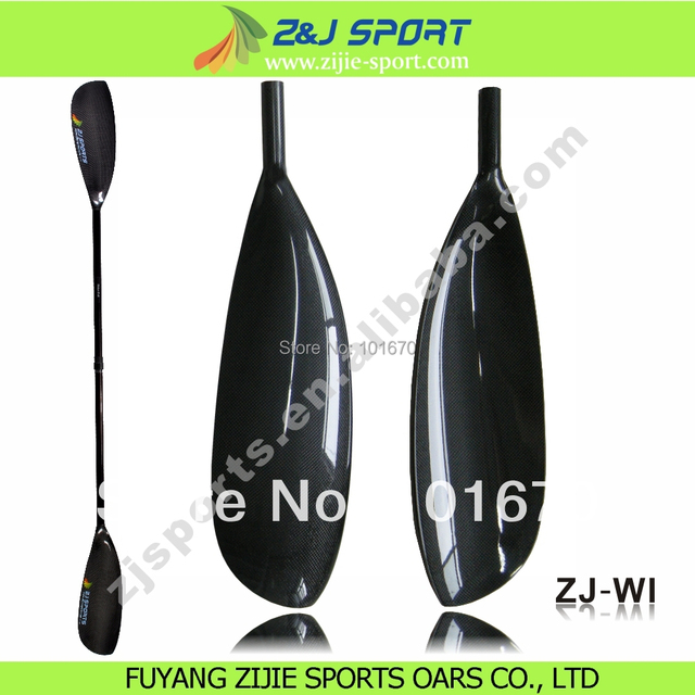 Carbon Fiber Wing Paddle With Extend Shaft Kayak Equipment