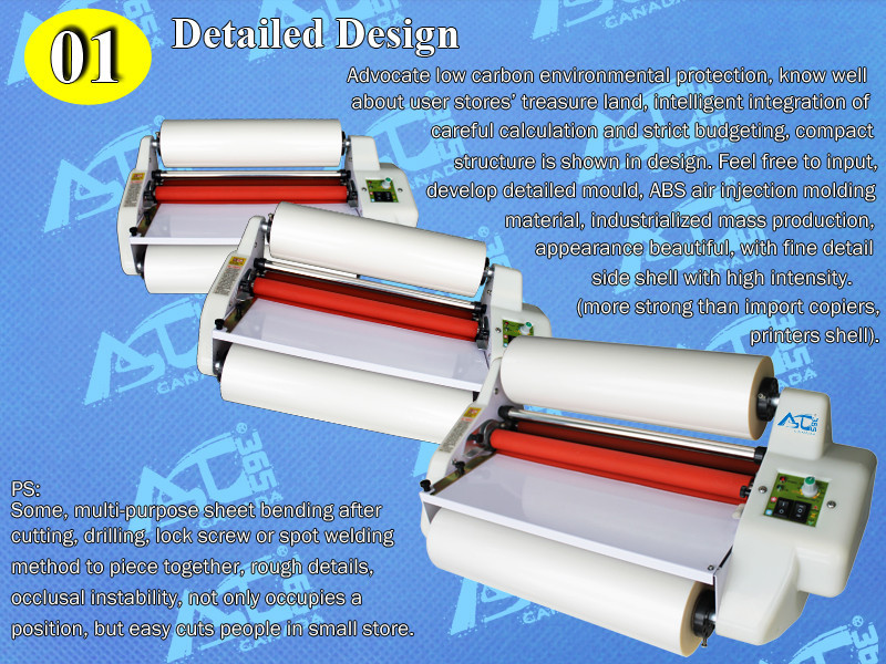 "A3 13"" High Speed Thermal Hot Cold Laminating Machine Mounting Roll Laminator Bopp Film(China (Mainland))"