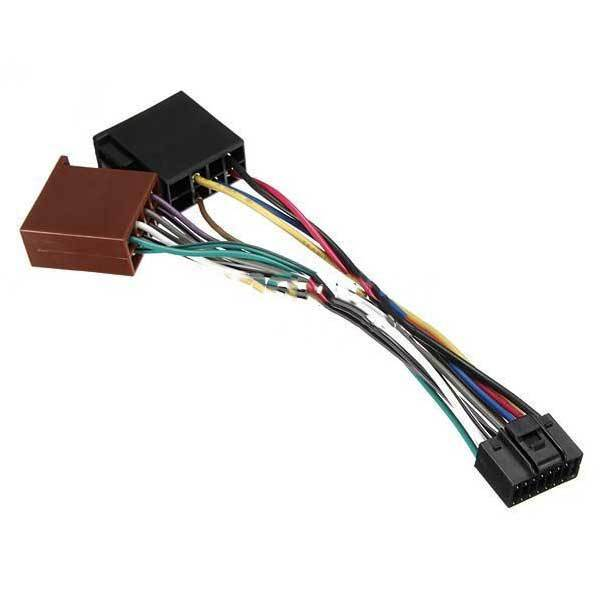 chivanoor 16pin iso car stereo audio wiring harness connector cable for kenwood in connectors
