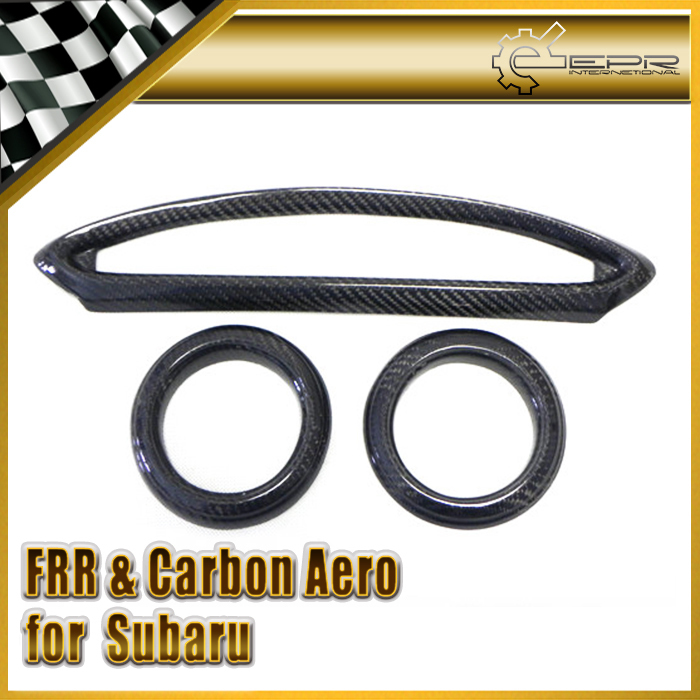 New Car Styling For Subaru BRZ ZC6 For Toyota FT86 ZN6 Scion GT86 Carbon Fiber Air Con Surround (3Pcs)<br><br>Aliexpress