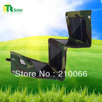 solar charger 20W solar power waterproof  flexible easy foldable panel USB outdoor mobile ipad iphone sunpower free shipping