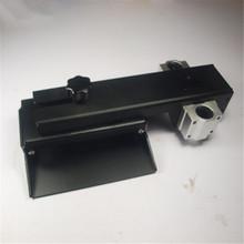 Z axis build plate for DLP SLA 3D printer parts DIY Form Z axis aluminum build platform kit black an0dized